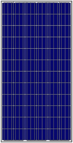 Amerisolar AS-6P 300 Watt Solar Panel Module