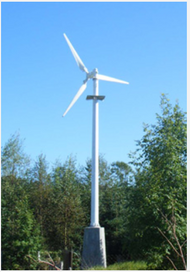 Quiet Revolution hy5 4.1kW 4100 Watt Wind Turbine