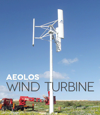 Aeolos Aeolos-V 5000w 5000W Off Grid Wind Turbine