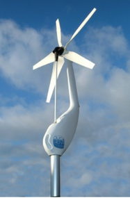 Eclectic Energy DuoGen-3 Extra Long Tower Wind Turbine