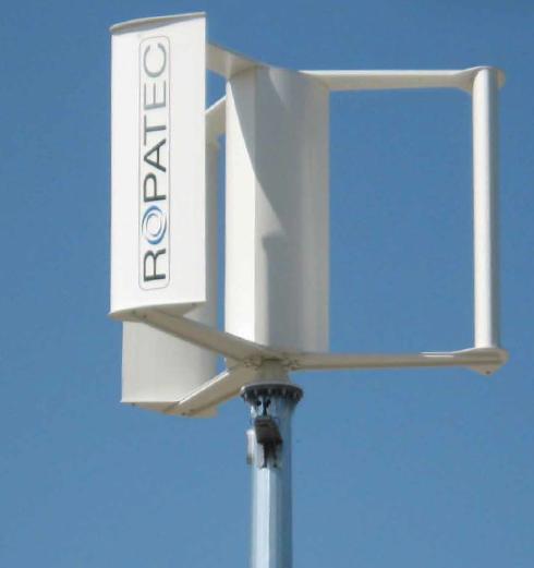 Ropatec T-Vision 3kW Wind Turbine