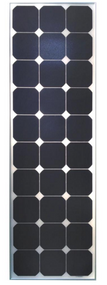 CleverSolar Sunpower cells 90 Watt Solar Panel Module