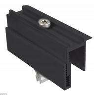Schletter Rapid Two Plus Black End Clamp Module