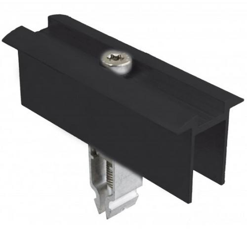 Schletter Rapid Two Plus End Clamp Module Black