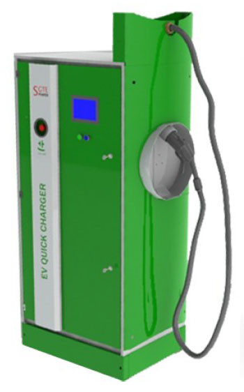 SGTE Power DC Version Electric Vehicle Charging Point Image