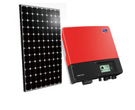 Auo BenQ Sunforte PM096B00 1650 Watt Solar Panel Kit