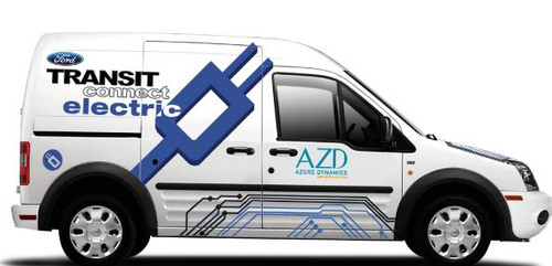 Azure Dynamics Transit Connect Electric Vehicle Image