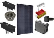 SolarWorld Sunmodule Plus 250 mono black 4000 Watt Solar Panel Module Kit (Discontinued)