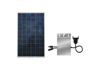 Astronergy VIOLIN CHSM6610P-260 260 Watt Silver Solar Panel Module Kit