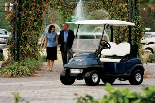 Club Car Prec i2 Signature 4 Pass Excel Electric Vehicle Image