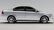 CODA Sedan Electric Vehicle Image