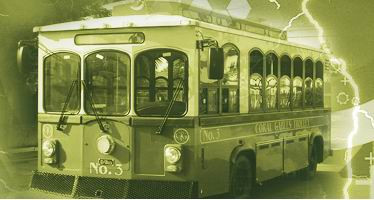 Ebus Fast-Charger Electric Trolley Electric Vehicle Image
