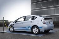 Toyota Prius Plug-in Hybrid Electric Vehicle Image