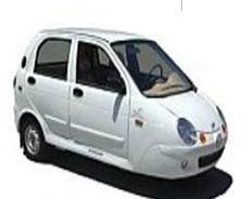 Zenn 2008 Zap Xebra Sedan Electric Vehicle Image