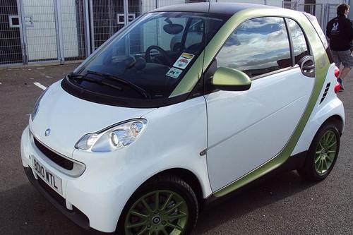 Zytek Smart Fortwo Electric Vehicle Image