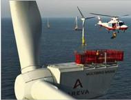 AREVA Wind M5000 5000kW Wind Turbine