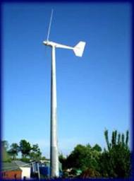 Ampair 10kW Wind Turbine Image