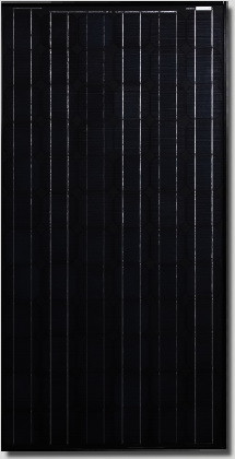 Canadian Solar All-black CS5A-160 Watt Solar Panel Module image