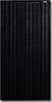 Canadian Solar All-black CS5A-165 Watt Solar Panel Module image