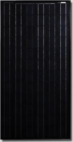Canadian Solar All-black CS5A-190 Watt Solar Panel Module image