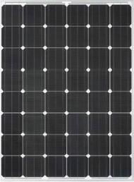Del Solar D6M180B2A 180 Watt Solar Panel Module image