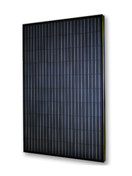 Viridian Clearline 270W Poly Black Backsheet Black Frame Panel