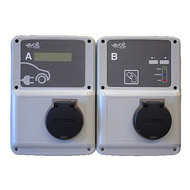 EVolt Smart Double Wall Box Model - 2 x 22kW - Three Phase - 3G