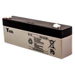 Yucel 2.1Ah 12V Lead Acid Battery 178 x 34 x 64mm