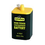 Lantern Battery 6V Black/Yellow