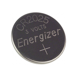 3V 163mAh Steel Lithium/Manganese Dioxide Coin Battery 2.5 x 20mm