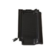 Solar Roof Tile with 2 integrated PV cells - 9M BLACKLINE BLACK