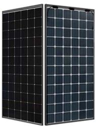JA Solar 370W 72 cell Mono Perc Bifacial DG Black Framed Module