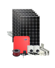 GRID TIED 3.6KW DIY SOLAR KIT WITH SMA AND IBC SOLAR PANELS