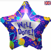 Well Done Star 18 Inch Foil Balloon