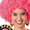 Pink Adult Afro Wig