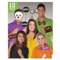 Halloween 13pc Photo Props Kit