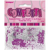 Happy Birthday Pink Glitz Foil Confetti