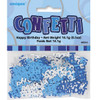 Happy Birthday Blue Glitz Foil Confetti