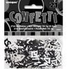 21st Birthday Black Glitz Foil Confetti