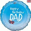 """Birthday Dad 18"""" Foil Balloon"""