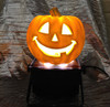 Haloween Large Pumpkin Uplighter Hire