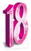 18 Pink Cutout Hire