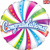 Congratulations 18 Inch Foil Balloon