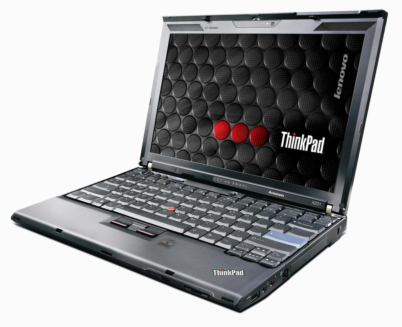 Lenovo Thinkpad X201 - right side view