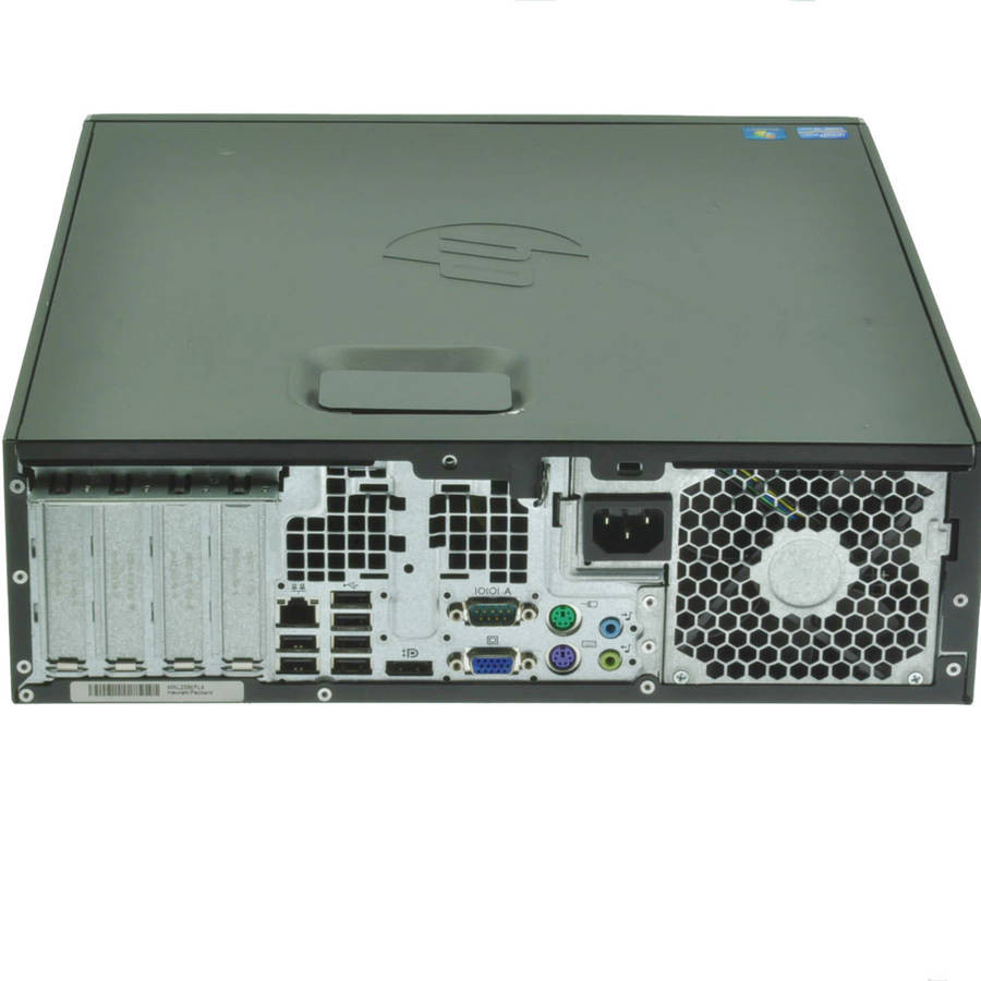 HP Elite 8200  - back view