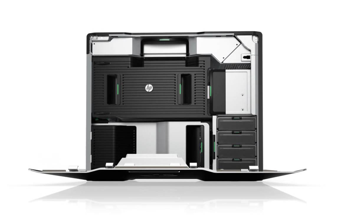 HP Z820 Workstation - side view