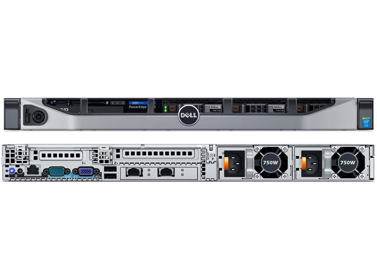 DELL PowerEdge R630 Dual Octa Core E5-2630 V3 CPU 128GB RAM
