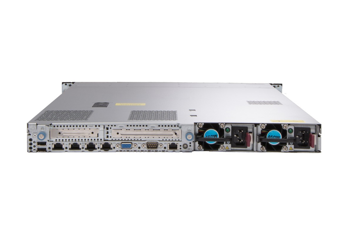 HP ProLiant DL360 G7 1U Rackmount Server - Rear view