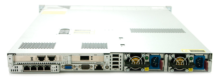 HP-ProLiant-DL360P-G8-1U-Rackmount Server-2x E5-2690-16GB-RAM-back view