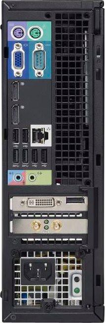 Dell Optiplex 7010 SFF-Core i5 -(Configure to Order)-intel- Desktop-back-rear view